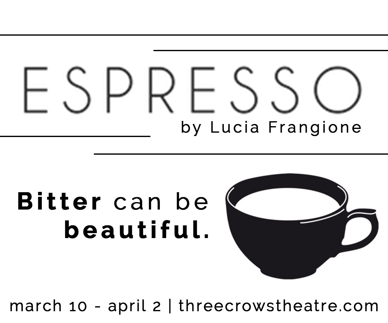 Three Crows Theatre ESPRESSO